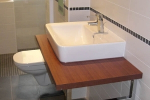 Example bathroom installation